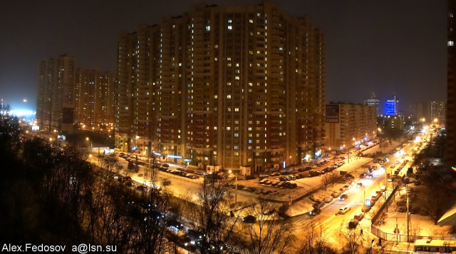 Химки. Декабрь 2013