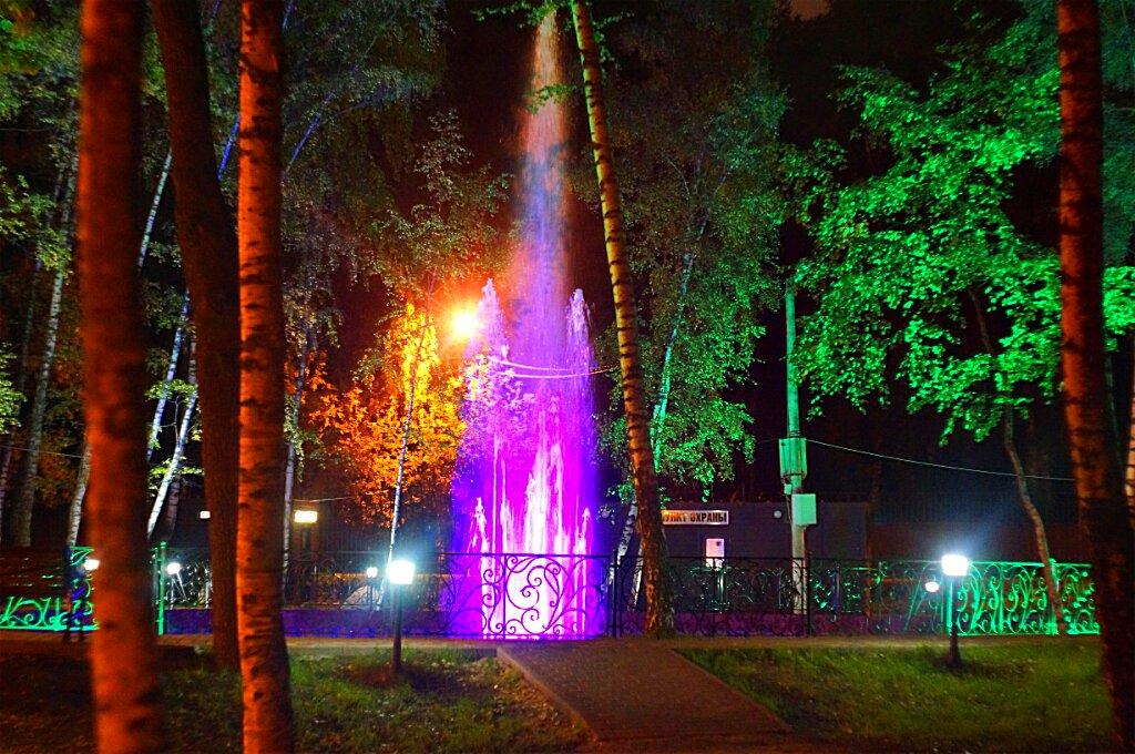 Фонтан в парке Дубки